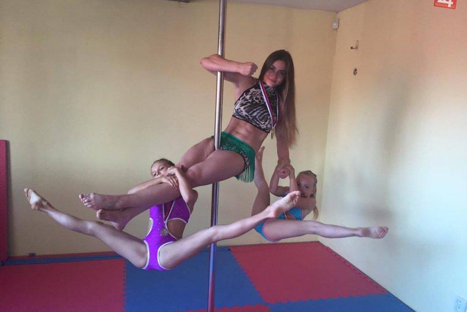 Pole dancerky z Hlohovca bodovali na Majstrovstvách Slovenska