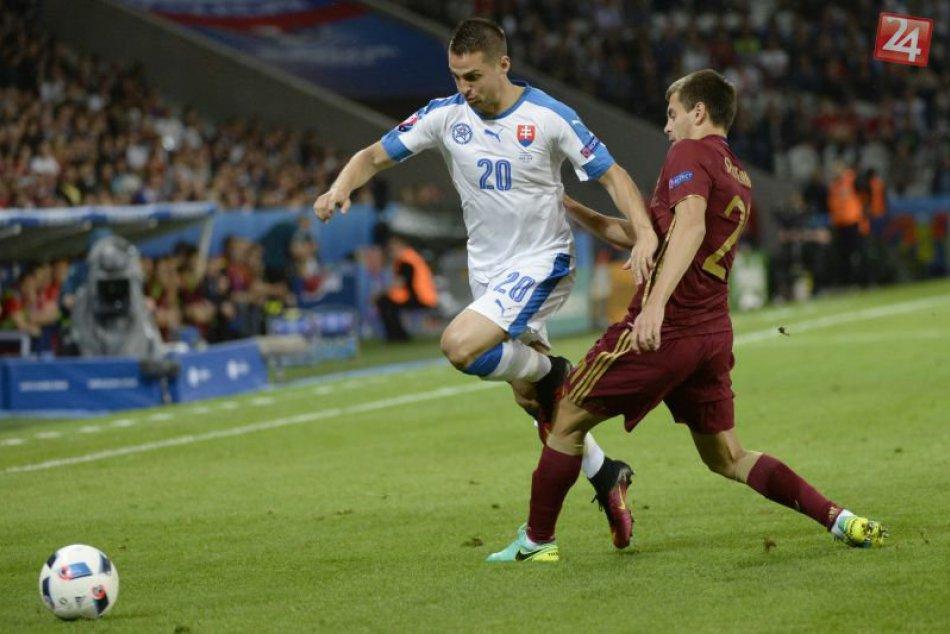 Futbal ME 16: Slovensko - Rusko