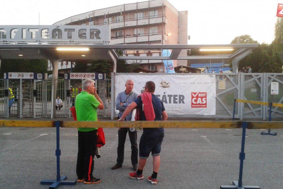 Výborná atmosféra v Amfiteátri Košice na zápase Slovenska