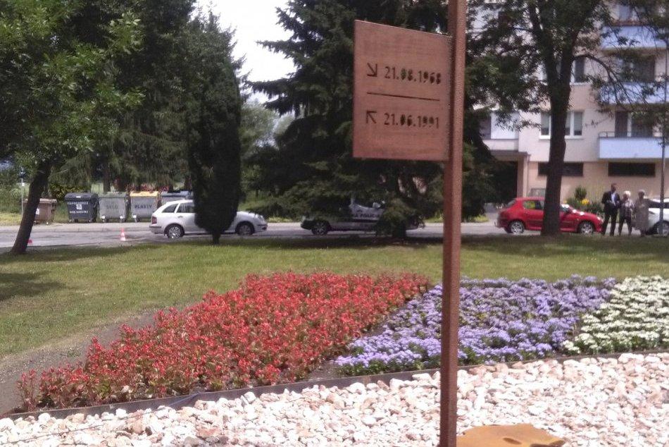Nový pamätník v Sliači odhalil sám prezident