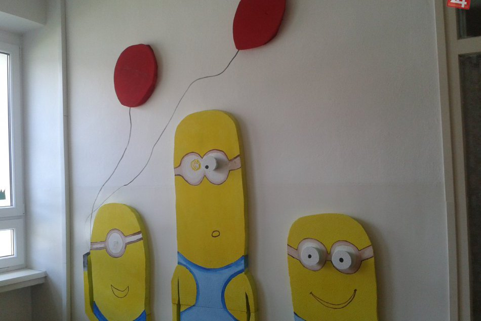Detské oddelenie zmenilo tvár. Maľby na stenách rozžiaria detské očká