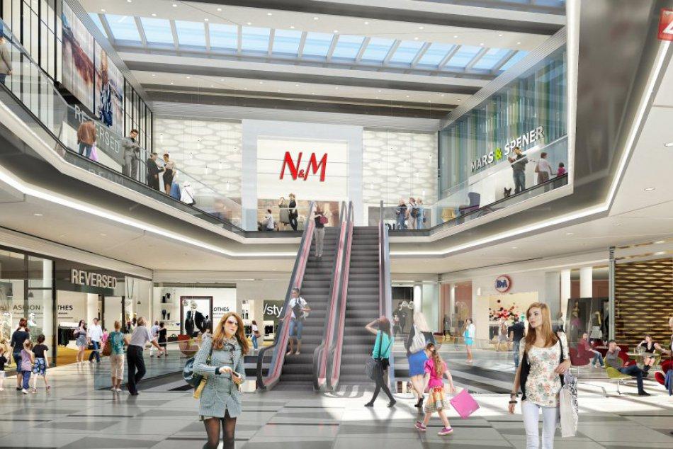 Obchodné centrum Forum v Prešove: Takto má vyzerať