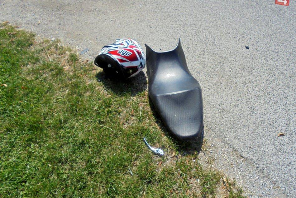 Obrazom: Tragická nehoda motorkára pod hradom Krásna Hôrka