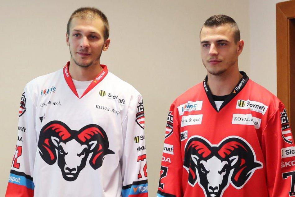 Nové logo bystrických hokejistov v OBRAZOCH