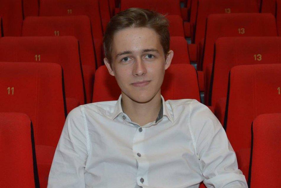 Martin Mlynár - Už ako stredoškolák reprezentoval hlas mladých v Štrasburgu