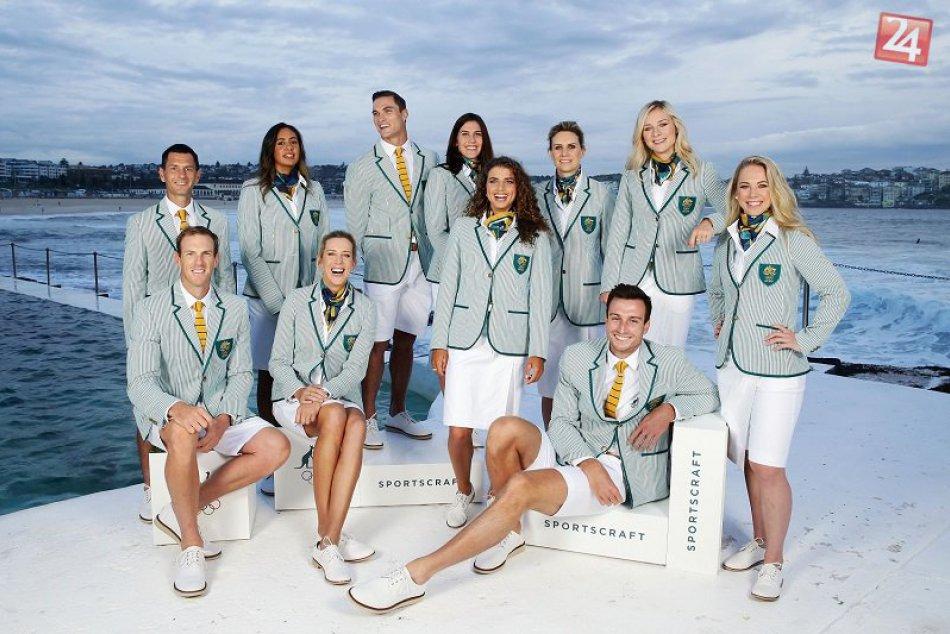 Oblečenie športovcov v Rio de Janeiro