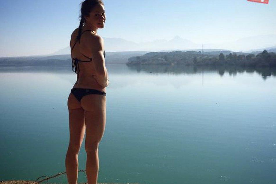 Plavkyňa Katarína Listopadová