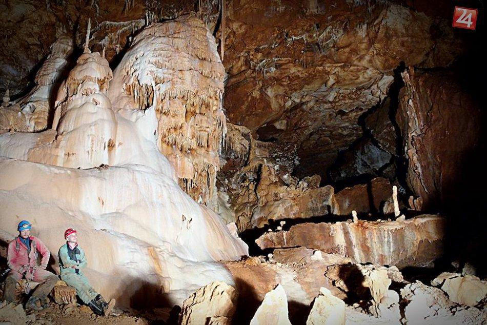 FOTO: Novoobjavené priestory Gombaseckej jaskyne