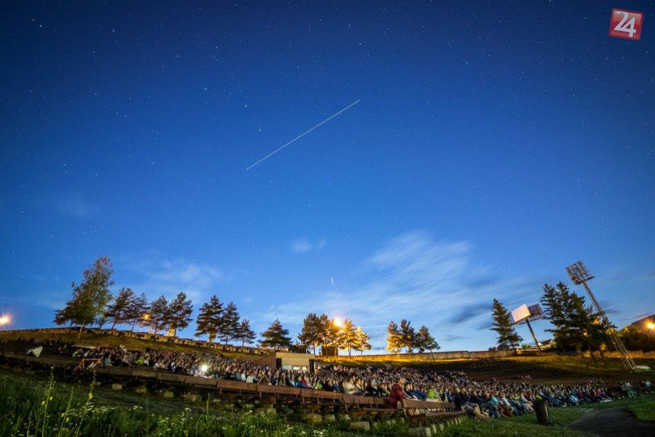 FOTO: Premietanie na bystrickom amfiteátri - Letné kino