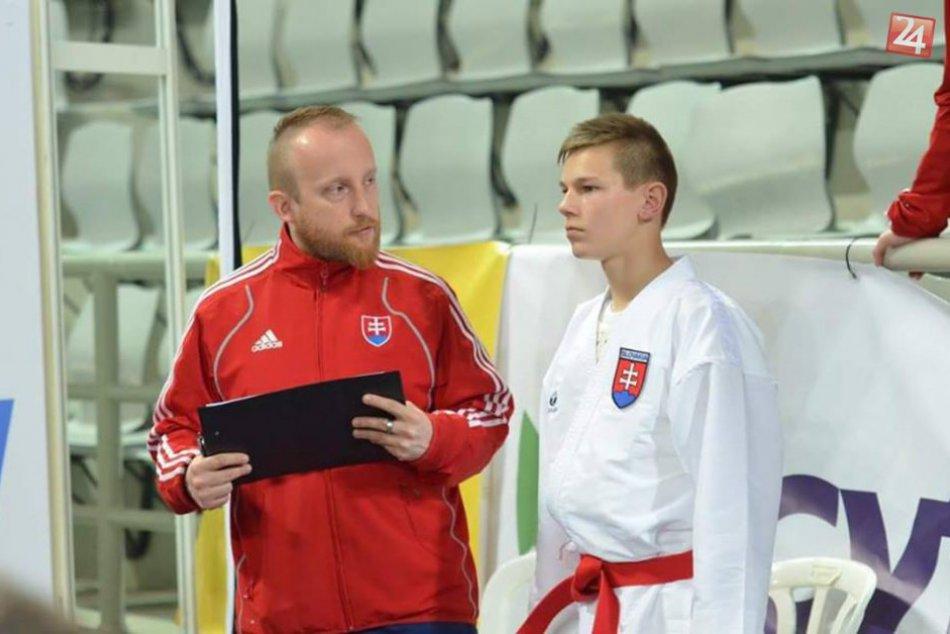 Žilinský tréner karate