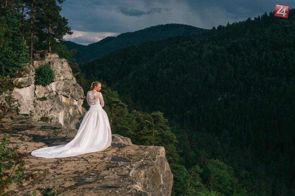 Svadobné fotky v lone prekrásnej prírody: Vznikli v Slovenskom raji!