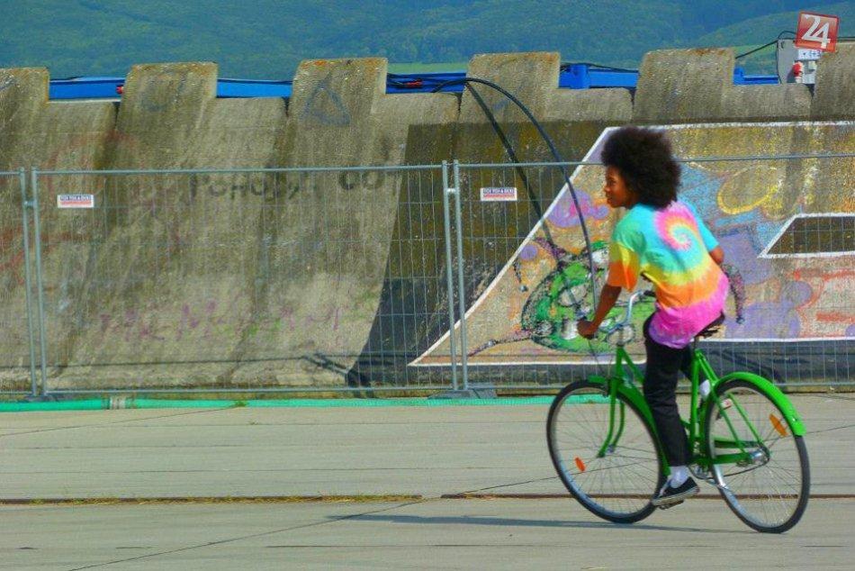FOTO: Projekt ponúka prenájom bicyklov pre študentov