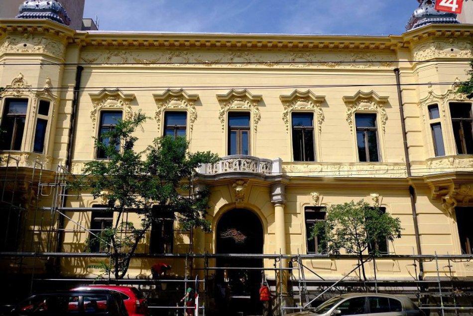 Obnovený Pisztoryho palác