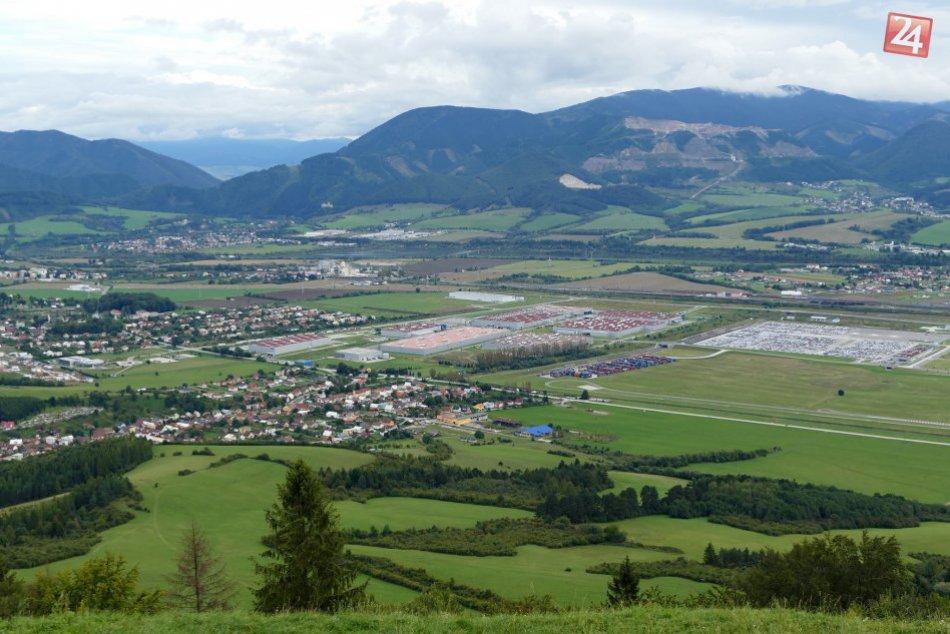 FOTO: Vrch Straník a prekrásny výhľad na okolie