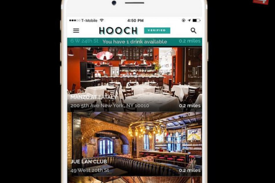 """KURIOZITA DŇA: Nová aplikácia vás zavolá do baru na """"lacný"""" drink"""