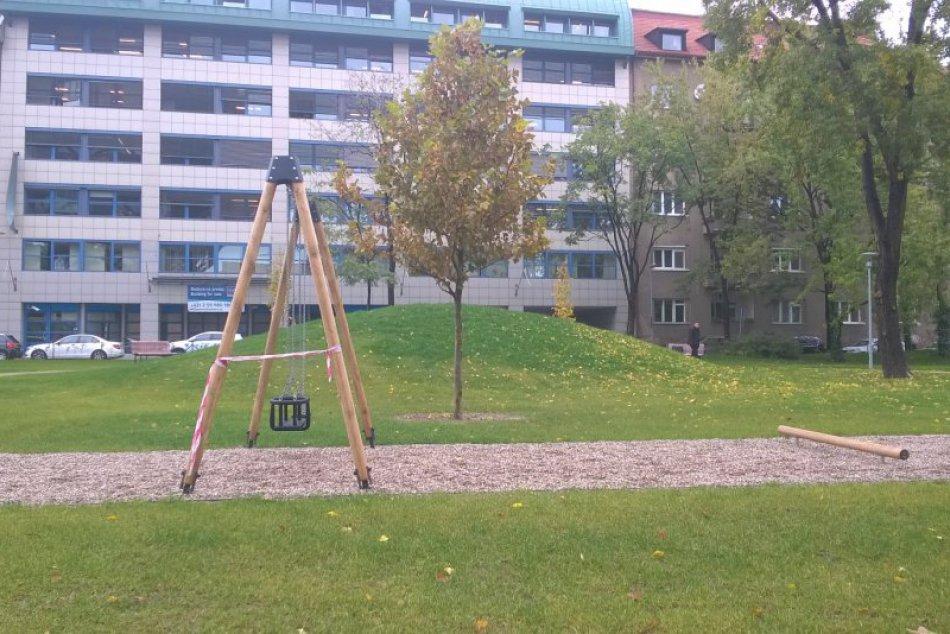Novootvorené parky v Bratislave