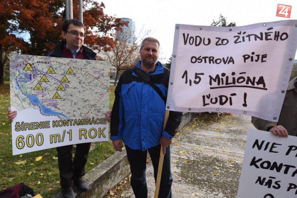 Protest proti skládke