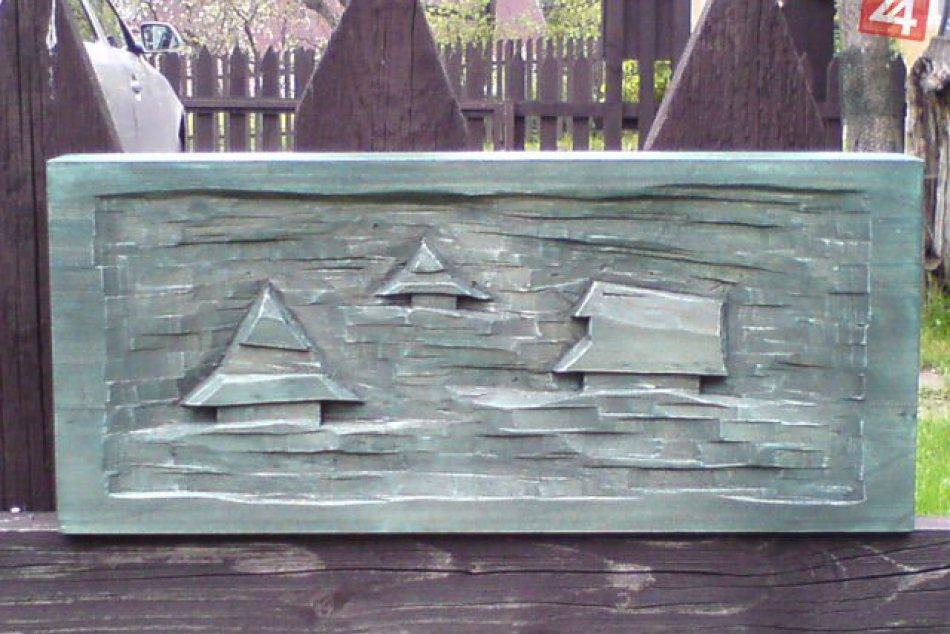 Nádherné drevené plastiky z Mýta pod Ďumbierom