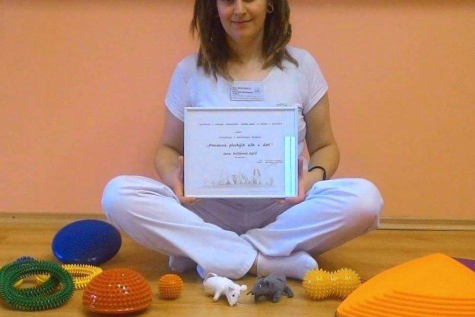 Fyzioterapeutka z Centrum Hlohovec radí rodičom