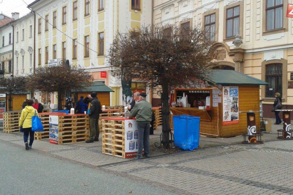 V OBRAZOCH: Vianočné trhy v Bystrici odštartovali