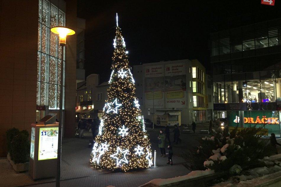 FOTO: Žilina dýcha Vianocami