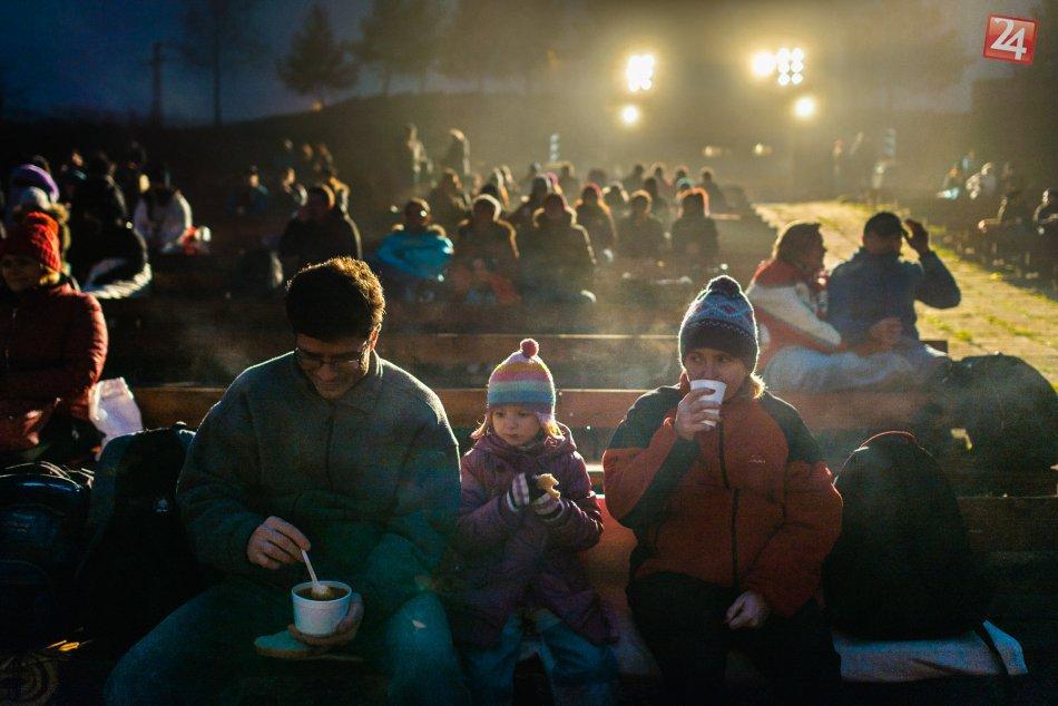 V OBRAZOCH: Na bystrickom amfíku zažijeme vianočnú atmosféru