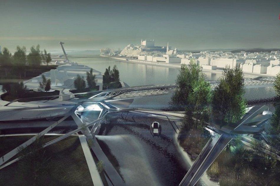Virtuálne nábrežie Dunaja