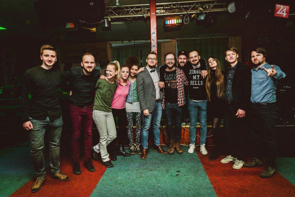 FOTO: Humenská kapela Jeno´s Brothers pokrstila svoj nový album