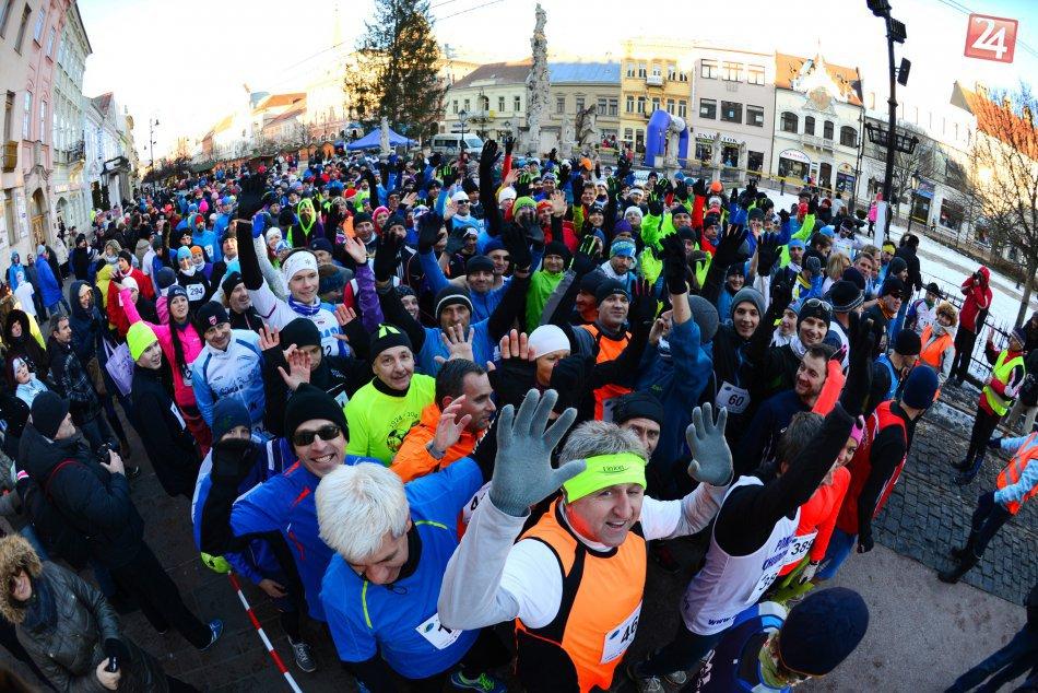 Vlaňajšieho Košického trojkráľového behu sa zúčastnilo množstvo pretekárov