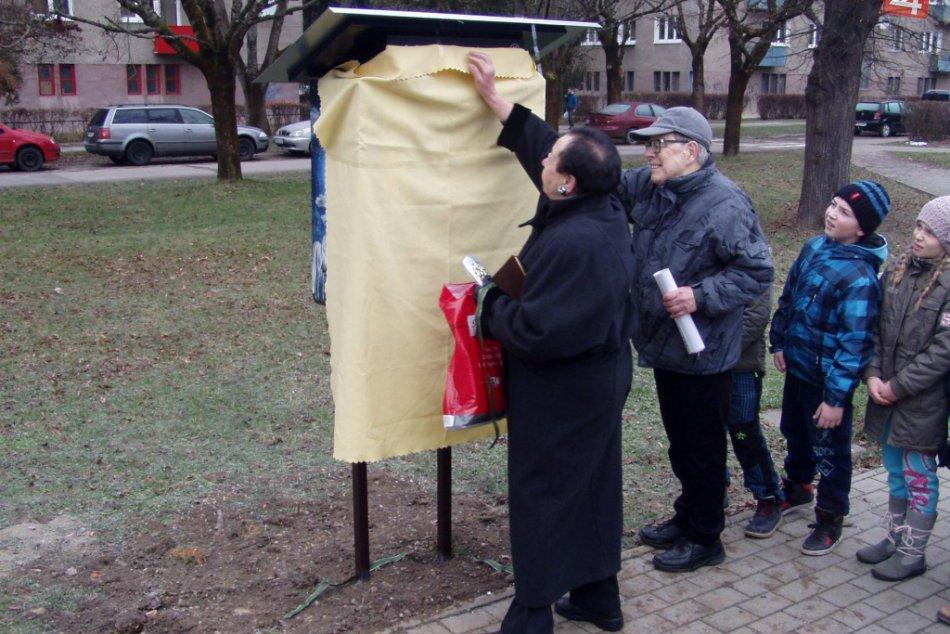 Považskobystrický Park mládeže s novinkou: Polárna knižná búdka