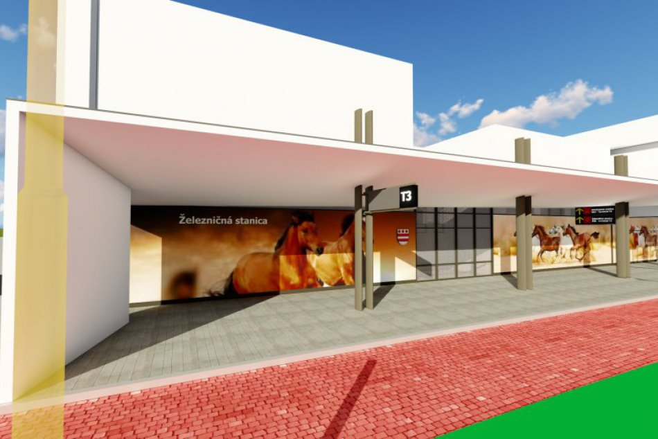 V pláne je obnova predstaničného priestoru v Prešove: Takto má po novom vyzerať