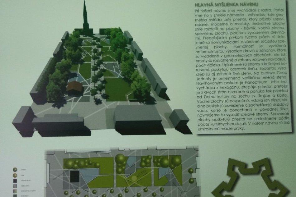 Návrhy na revitalizáciu Hlavného námestia v Nových Zámkoch