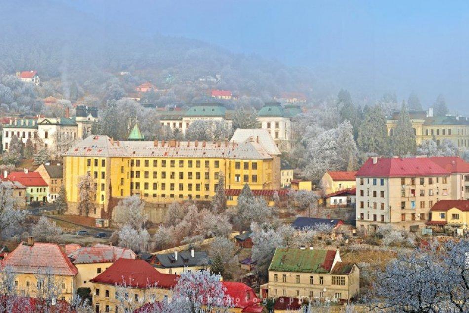 Pastva pre oči: Zimná Banská Štiavnica