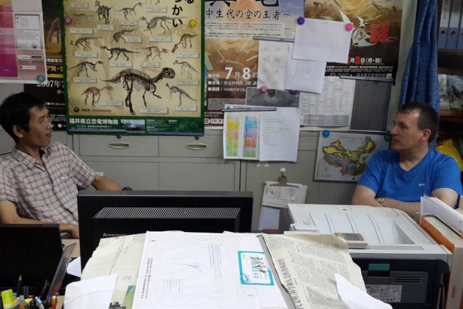 FOTO: Rodák z Humenného sa stal svetovo uznávaným paleontológom