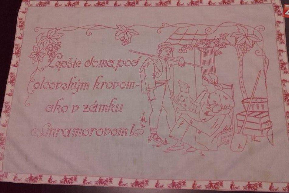 Diela zrodené ručnou prácou našich starých mám: Krásne výšivky z Trnavy a okolia
