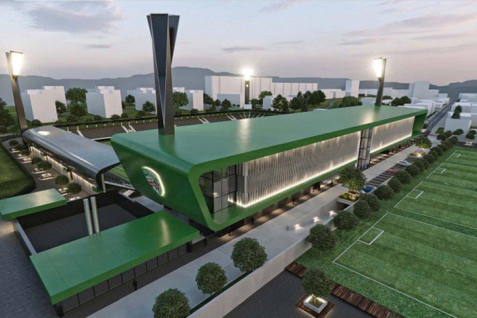 V OBRAZOCH: Pozrite si, ako má po rekonštrukcii vyzerať štadión v Prešove