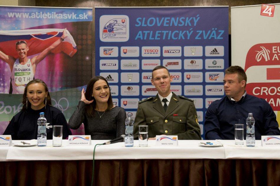 Trnavská atlétka Michaela Pešková na fotkách