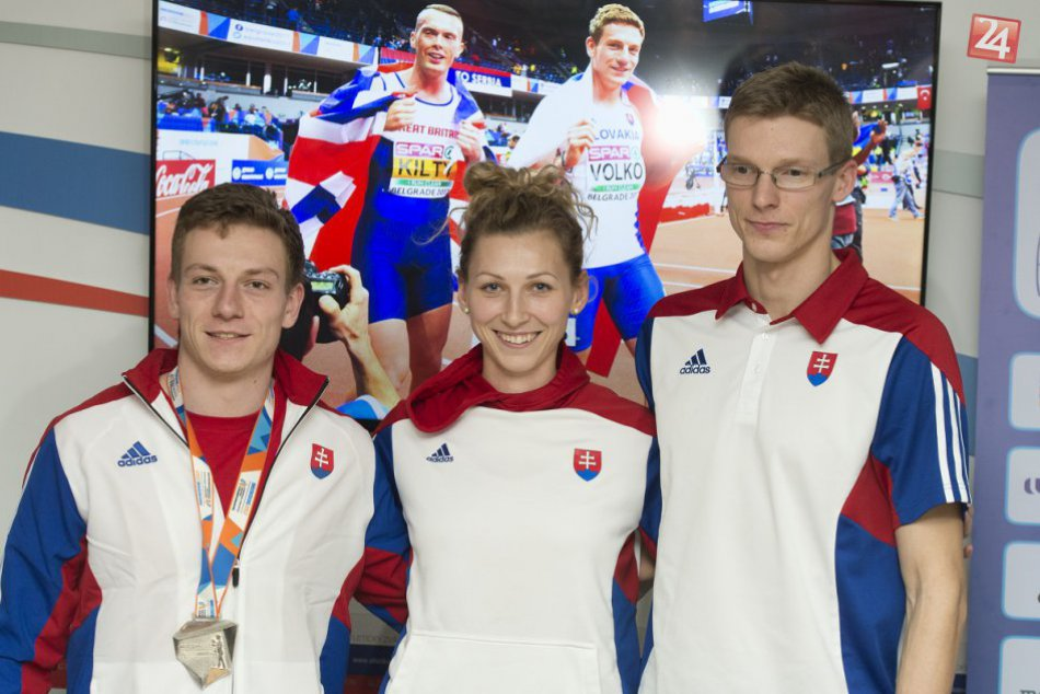 Vítanie úspešných slovenských atlétov: Aj Považskobystričanky Lucie Slaničkovej