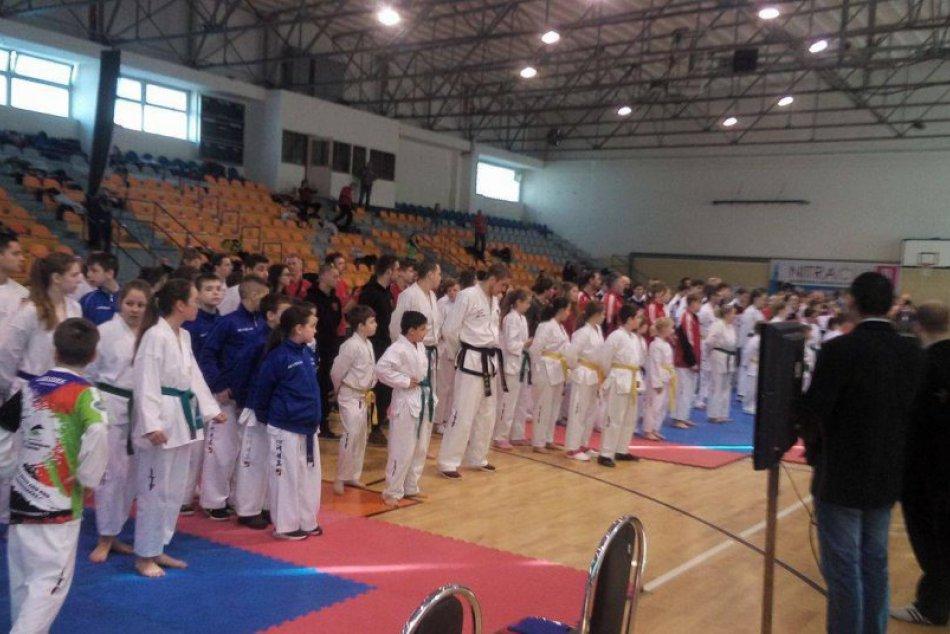 FOTO: Trnavskí taekwondisti na medzinárodnej súťaži