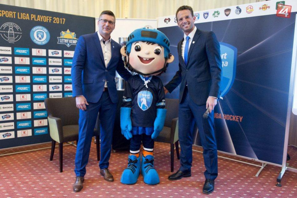 Boje o hokejového majstra Slovenska s novinkami: Pribudol maskot, FOTO