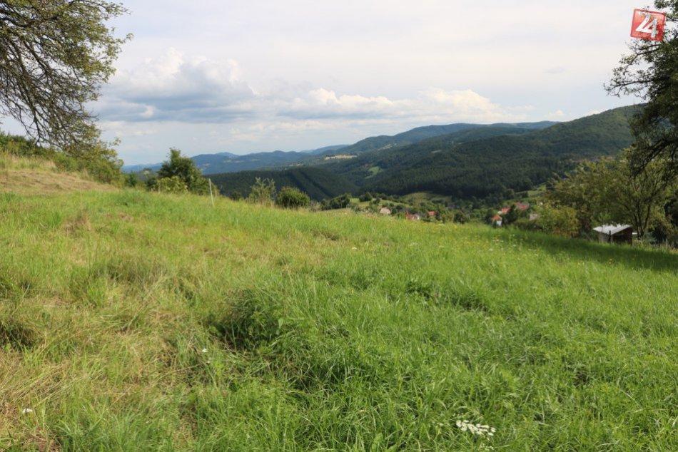 Pozemok vo Veľkom Poli pri Žarnovici vhodný na pokojné bývanie i víkendový relax