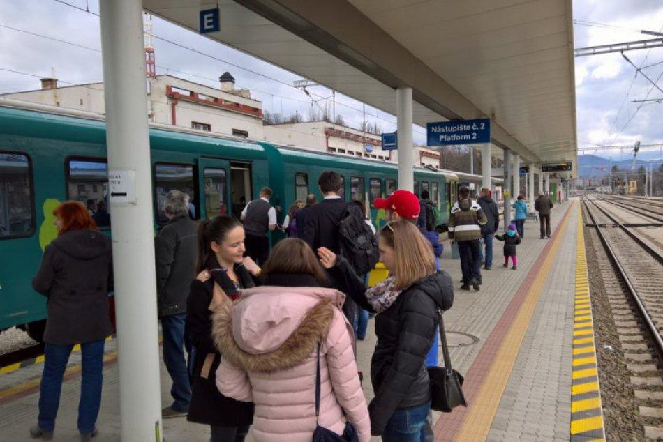 Vlak Nitra-Praha