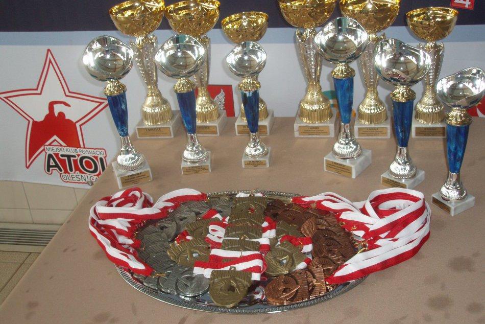 V OBRAZOCH: Bystrickí plavci si z plaveckého mítingu priniesli 10 medailí