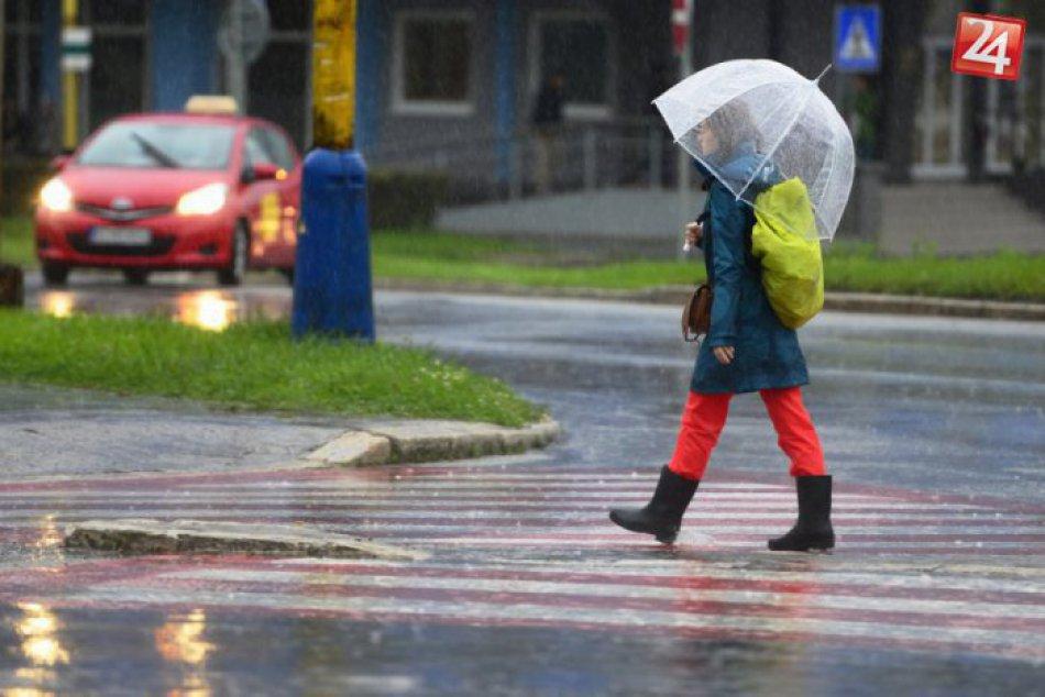 Dážď, lejak
