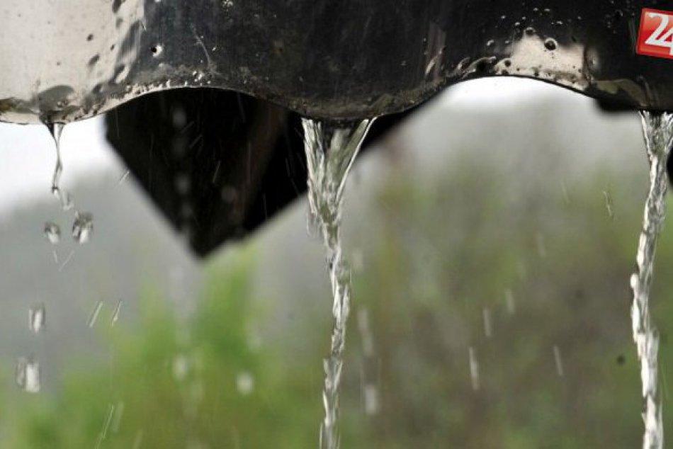 Dážď, prehánky