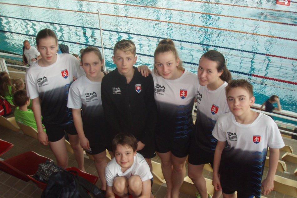V OBRAZOCH: Bystrickí plavci na medzinárodných pretekoch v Brne