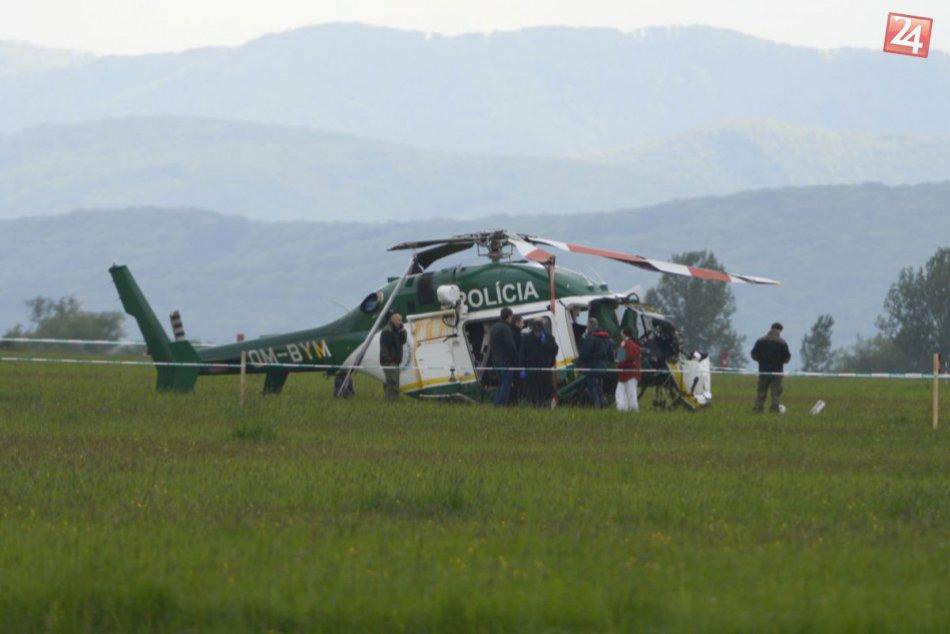 Pri Prešove sa zrútil policajný vrtuľník: Nehoda si vyžiadala dve obete