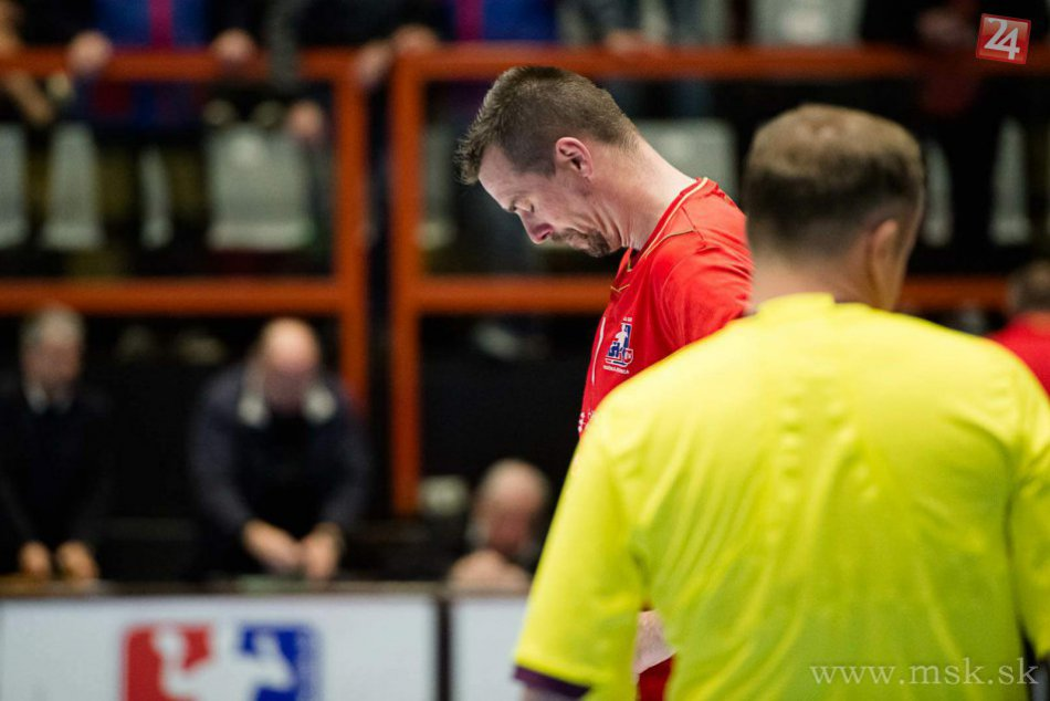 Semifinále play-off Považská Bystrica-Šaľa (22:25): Koniec finálového sna!