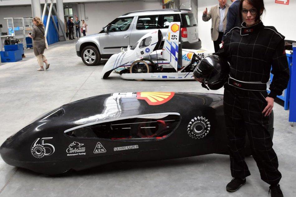 Košickí študenti predstavili ultra úsporné auto