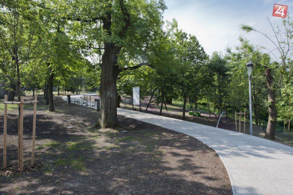 Zrevitalizovaný park Gaštanica na Kolibe